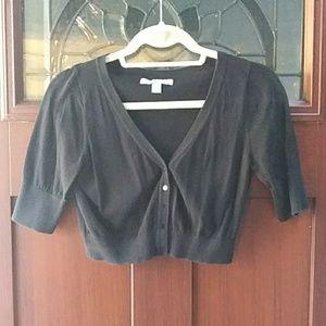 Crop top cardigan